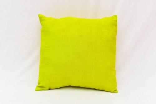 Green hemp cushion
