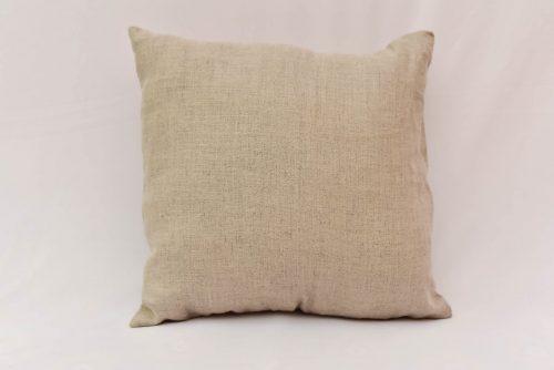 Natural hemp cushion