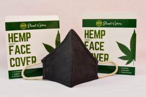 Black hemp mask