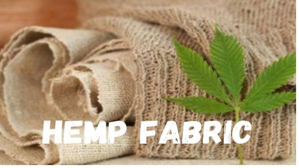 Hemp Fabric For Environment