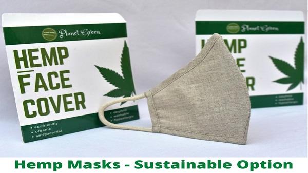 Hemp Mask For Planet
