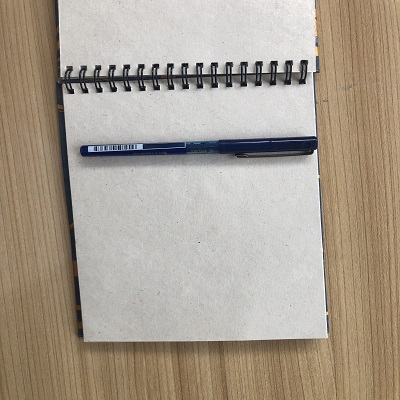 Handmade Hemp Paper Notebook.