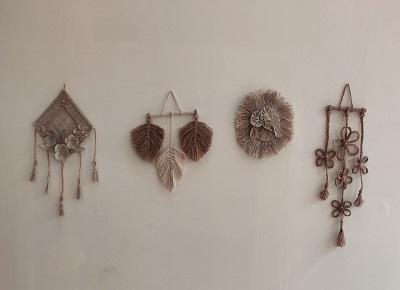 hemp wall art