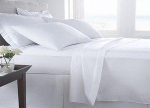 White Hemp Bed sheets