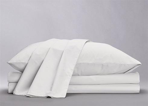 100 % Natural White Hemp Bed Sheet