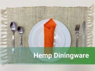 Hemp Diningware
