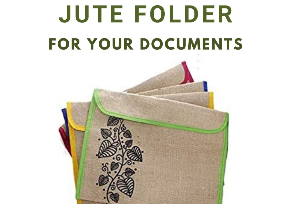 Why Jute Folder is the best for your important documents.