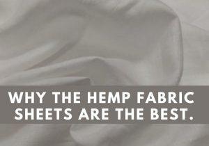 hemp fabric sheets